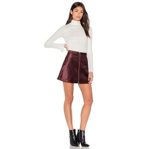 NWT Free People Funky Town One and Only Mini Skirt